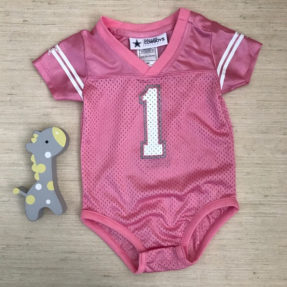 new product 0c3af 08526 Dallas Cowboys Baby Girl Onesie